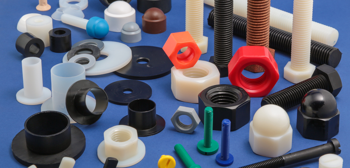 NYLON & OTHER PLASTIC FASTENERS